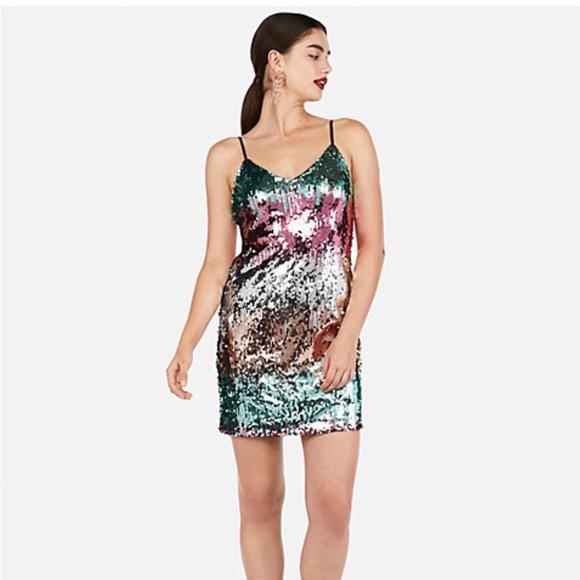 Express Dresses & Skirts - Sequin Cami Dress